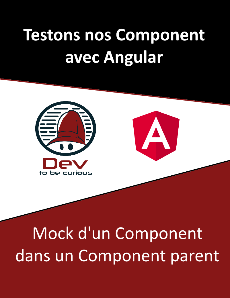 mock component angular